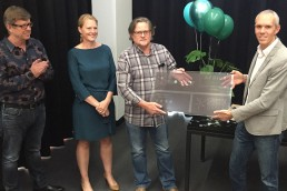 Bob van Bebber (Boogertman+Partners), Marloes Reinink (Solid Green Consulting) Quintus van Eck ( Boogertman +Partners) Grahame Cruikshanks ( Green Building Council SA)